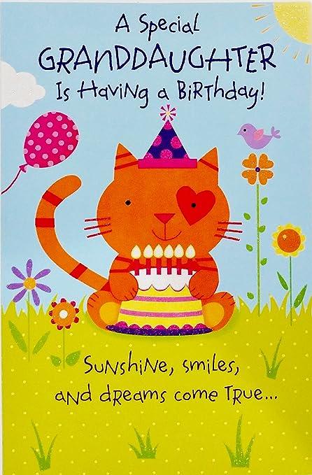 Un especial nieta es tener un cumpleaños -