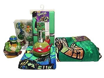Teenage Mutant Ninja Turtle 6pc Bathroom Accessory Set