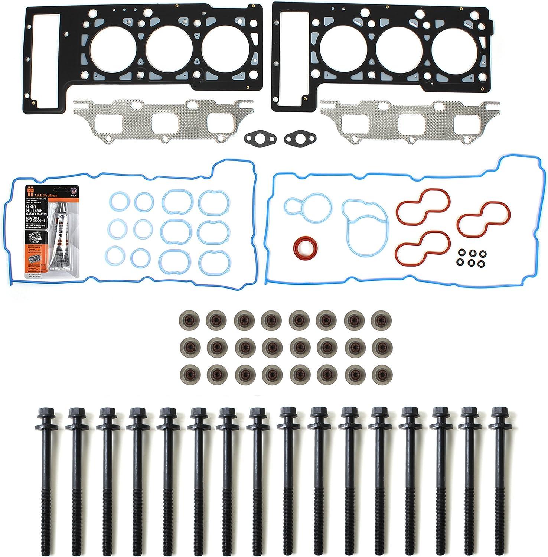 Cylinder Head Bolts for Dodge Stratus Intrepid Chrysler Sebring 2.7L V6 DOHC 24V