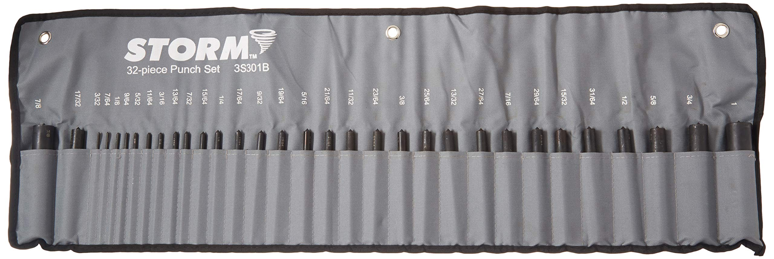 1//2-1/'/' Transfer Punch By 64th Set Punches Machinist Thread Tool 33 Pcs
