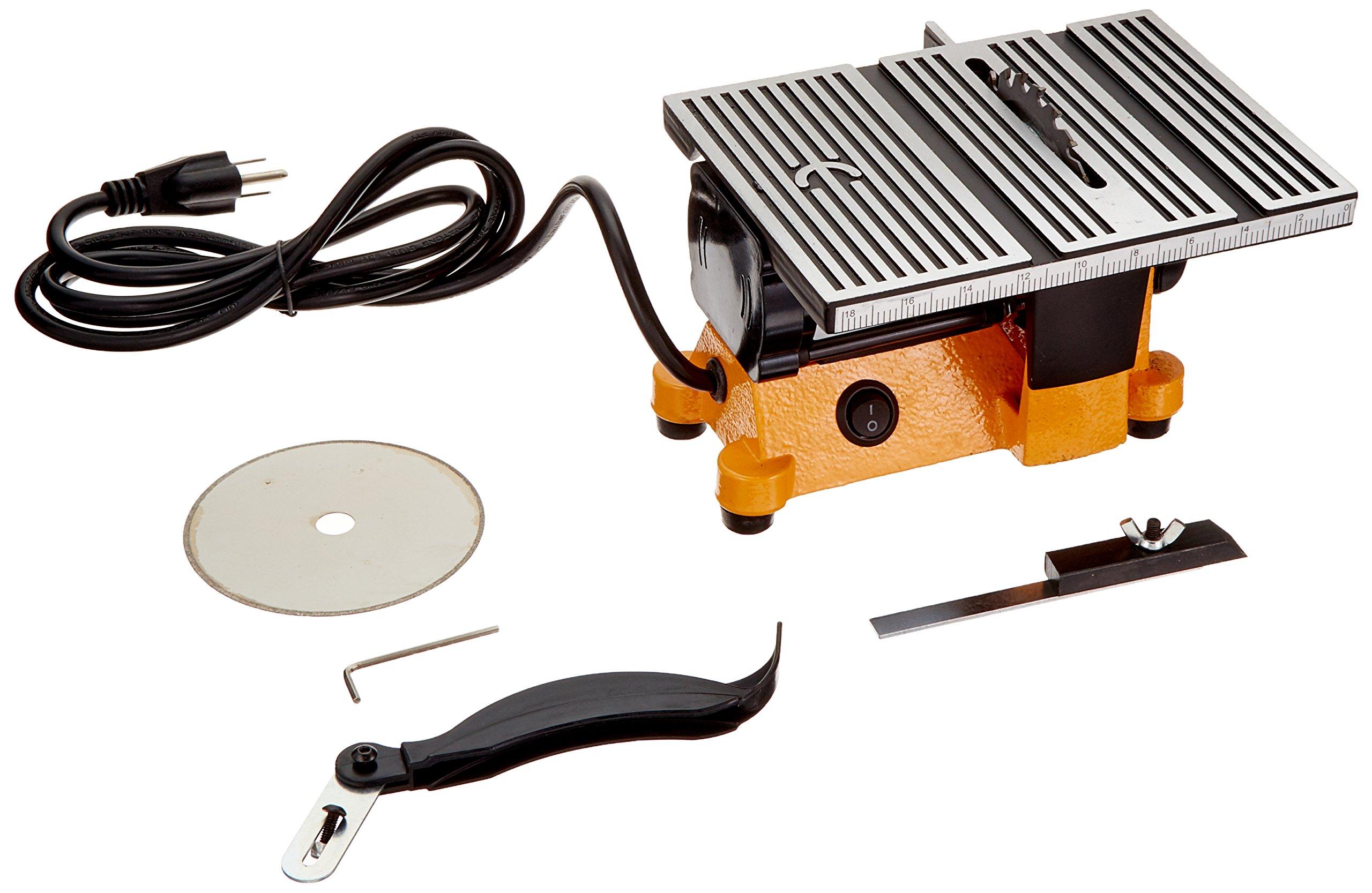 TruePower 01-0819 Mini Electric Table Saw, 4-Inch by Gino Development