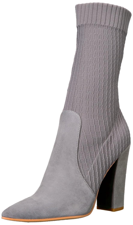 Dolce Vita Women's Elon Fashion Boot B075KCRY55 9 B(M) US|Smoke Suede
