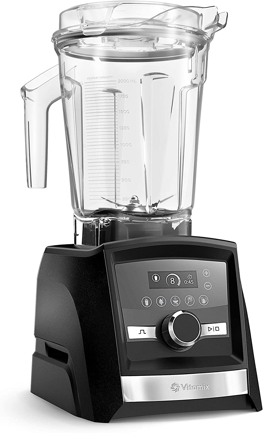Vitamix A3500 Ascent Series Smart Blender, Professional-Grade, 64 oz. Low-Profile Container, Graphite