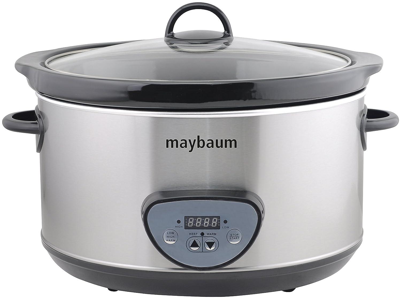 Maybaum Mayb SC Digital olla de cocción lenta Slow Cooker para Platos