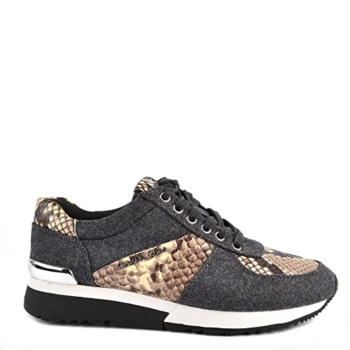 MICHAEL by Michael Kors Zapatos Allie Zapatillas Charcoal Mujer 37 Charcoal: Amazon.es: Zapatos y complementos