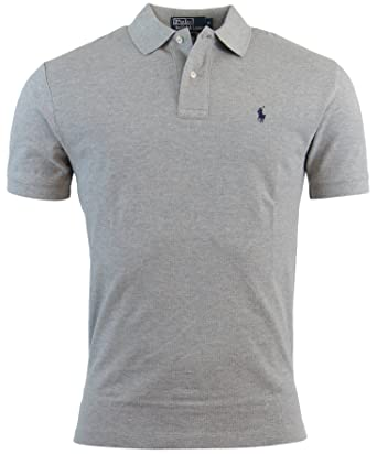 Ralph Polo Lauren Mens Mesh Fit ShirtxxlGray Classic Pk8wn0O