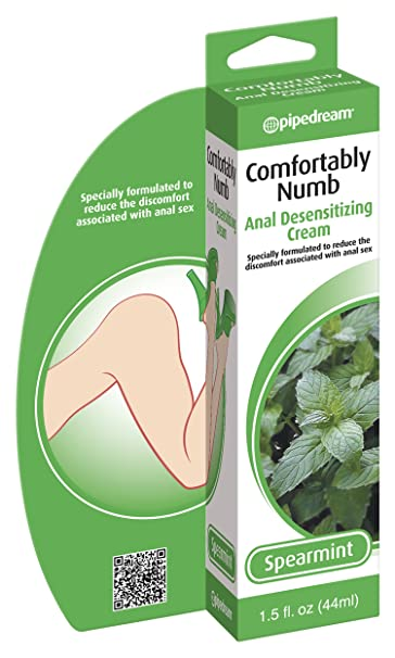 Natural numbing for anal penetration