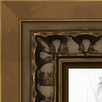 Amazoncom Arttoframes 24x30 Inch Antique Gold Wood Picture Frame