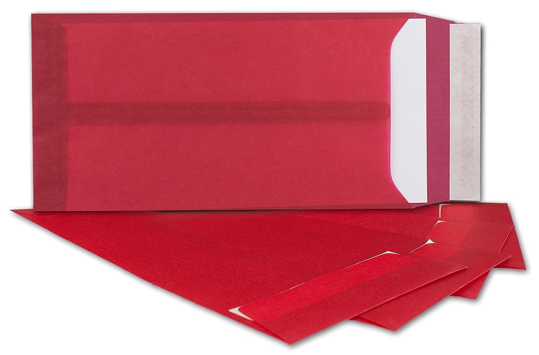 Transparente Umschläge DIN Lang Lang Lang   300 Stück   mintgrün-transparent mit seitlicher Verschlusslasche   Haftklebung   220 x 110 mm   Moderne Umschläge für Einladungen - durchsichtige KuGrüns B076CDGR6C | Sale  5b0764