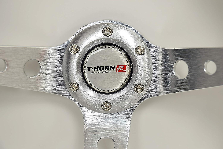 35 cm Deep Dished Sport Racing RDi 70034-Y Dorado Tuning Volant Sport /Ø 350 mm //13.8inch Sport Design Italien