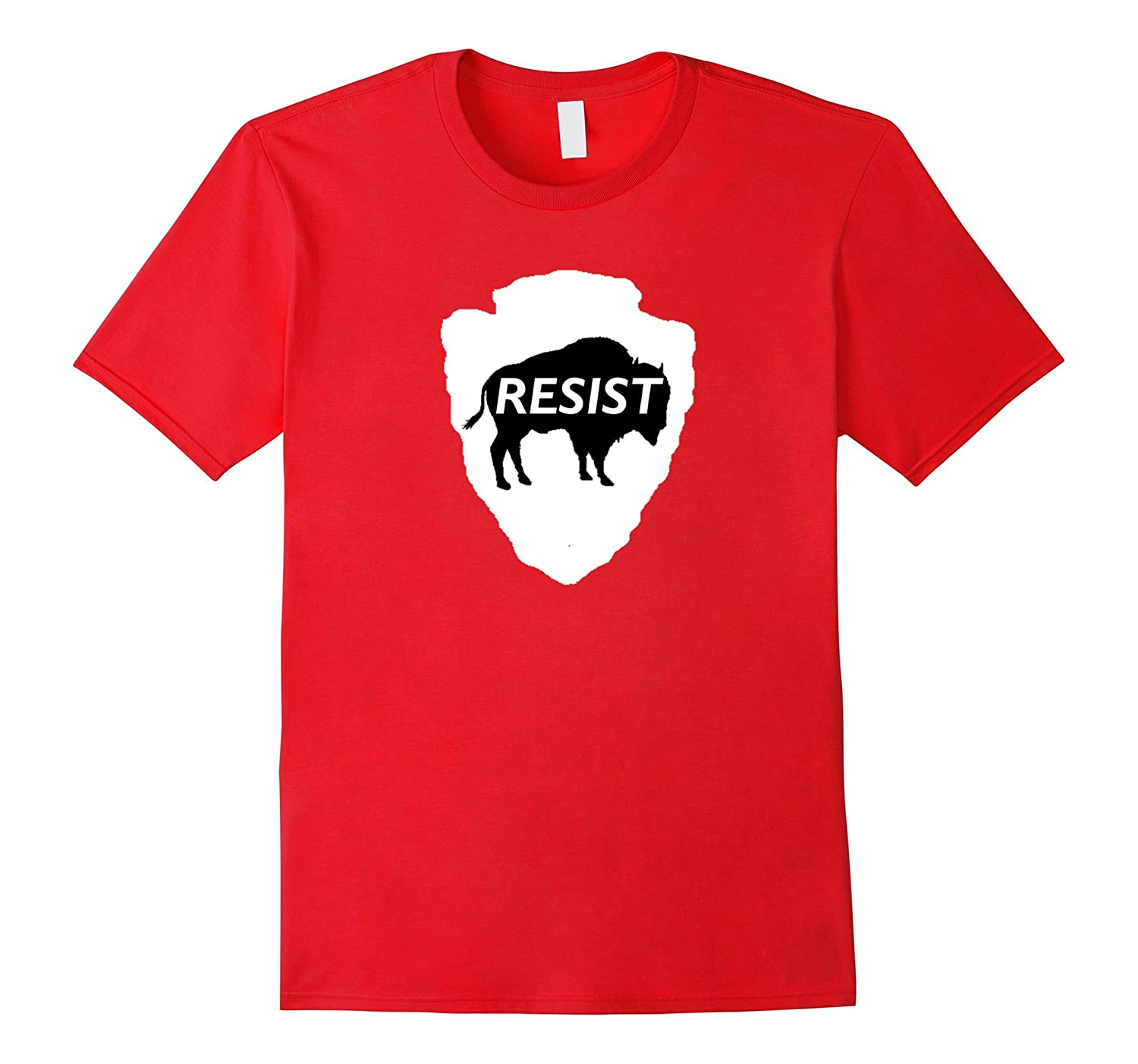 National Parks Resist Shirt with Buffalo-TH