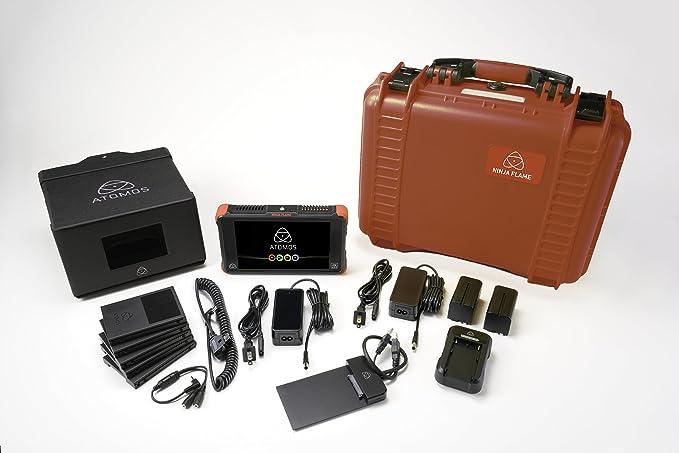 Atomos Shogun Flame videograbador Digital Negro, Amarillo - Capturadora de Video Digital (Negro, Amarillo, 1920 x 1200 Pixeles, 120 pps, 48kHz, ...