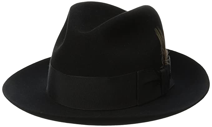 580e09e938291 Stetson Men s Sttson Temple Royal Deluxe Fur Felt Hat at Amazon ...