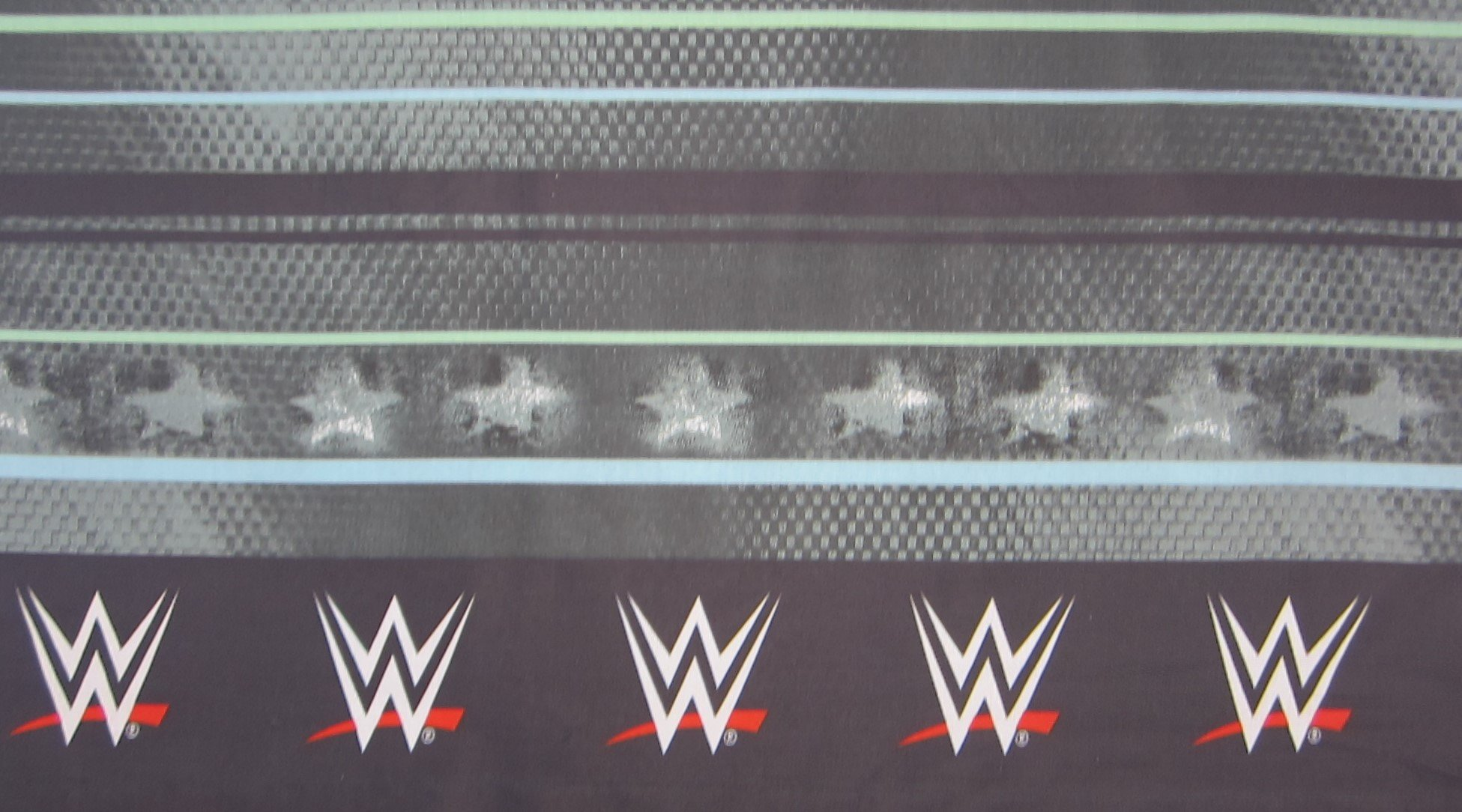 WWE Industrial Strength 55% Cotton (FLAT SHEET ONLY) Size TWIN Boys Girls Kids Bedding