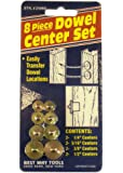 Best Way Tools 25860 Dowel Center Set