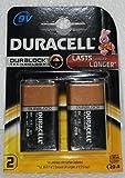 Durcell 9V Alkaline Battery Mn1604-6Lr61 (Pack Of 2)