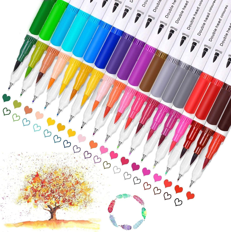 Dual Brush Pens Paint Markers