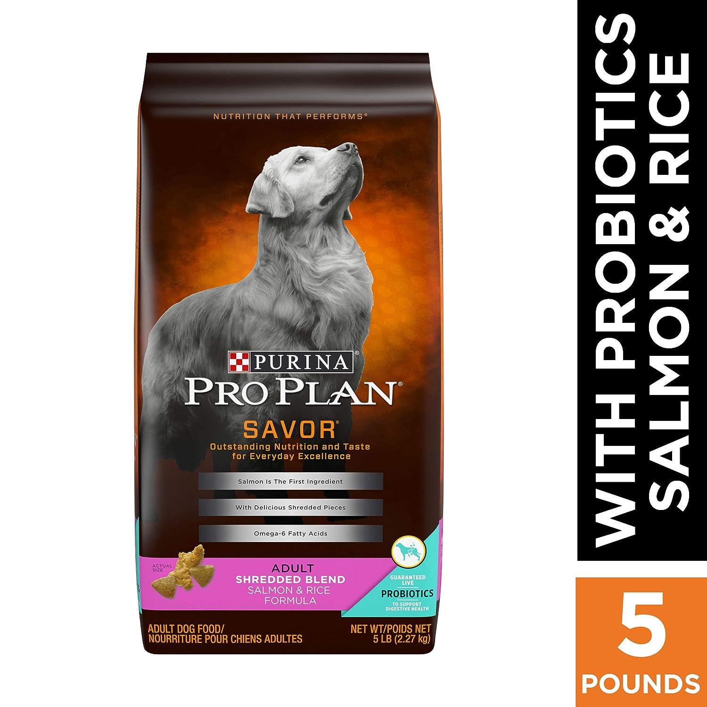 Purina Pro Plan SAVOR Shredded Blend With Probiotics Adult Dry Dog Food