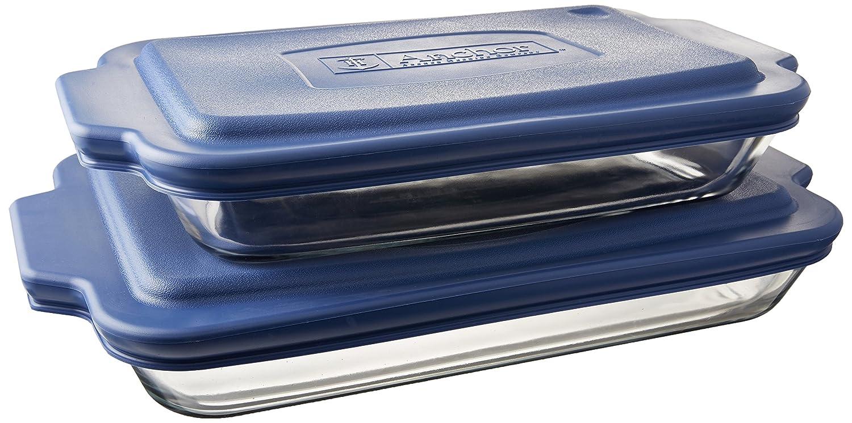 Anchor Hocking Oven Basics 6-Piece Bake-N-Take Bakeware Set