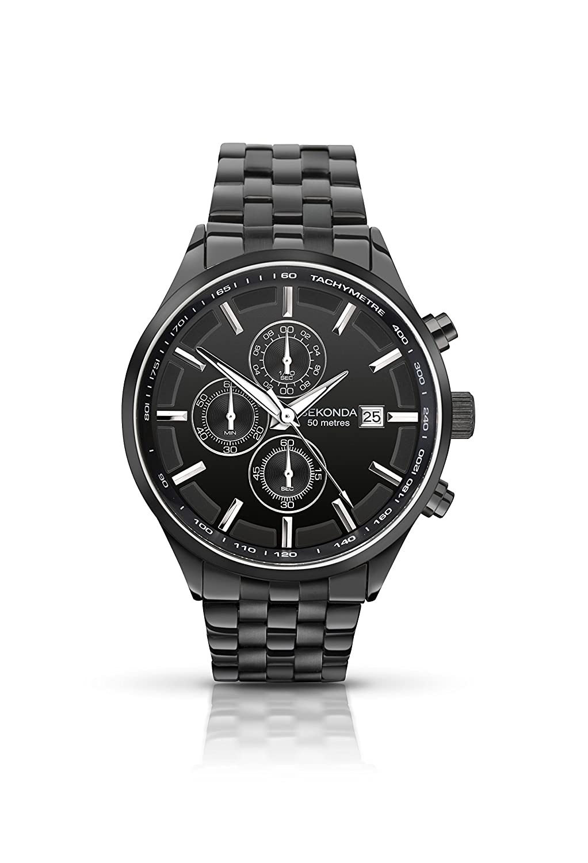 Sekonda Herren-Armbanduhr Chronograph Quarz 1158.27