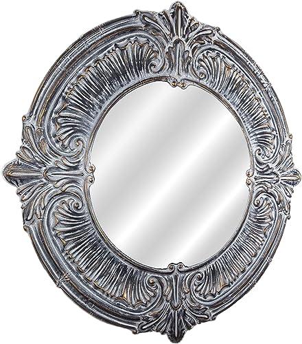 American Art D cor Baroque Style Metal Framed Wall Vanity Mirror Farmhouse D cor 39