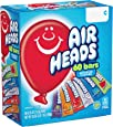 Airheads Candy Bars, Variety Bulk Box, Halloween Treat, Chewy Full Size Fruit Taffy, Gifts, Back to School for Kids, Non Melting, Party, 60 Count (Packaging May Vary)