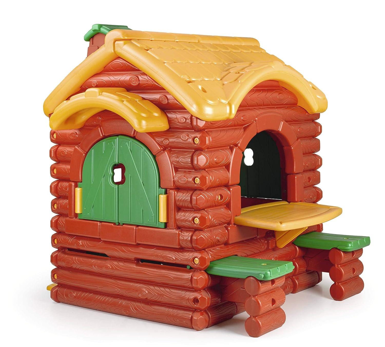 FEBER -  Casita infantil para el jardín, Woodland Cottage con sonidos (Famosa 800002884)