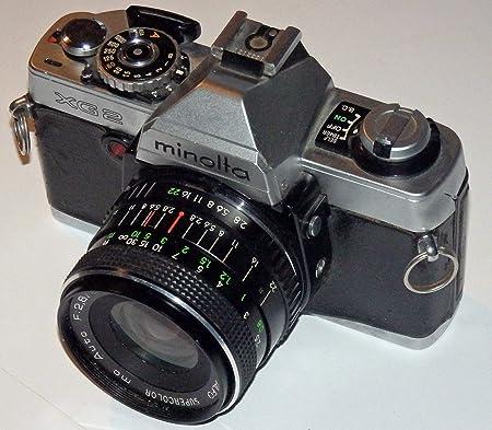 MiniLTA XG2 XG-2 - Cámara réflex analógica, Incluye LLL ALFO ...