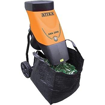 Häcksler, beispielsweise von der Firma Atika, sind sehr einfach zu bedienen.