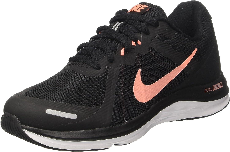 Nike Wmns Dual Fusion X 2, Zapatillas de Running para Mujer, Negro ...