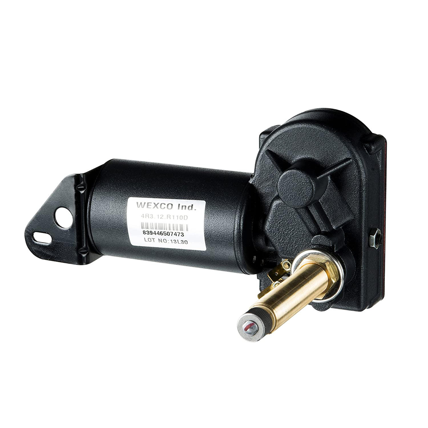 One and a half inch 4R1.24.R110D shaft 1.5 24V Wexco Wiper Motor