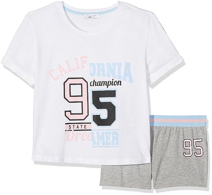 New Look Cali, Conjuntos de Pijama para Niñas, Rosa (Light Pink 70)