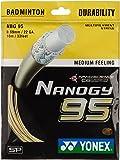 Yonex Nanogy 95 Badminton Strings, 0.69mm (Cosmic Gold)