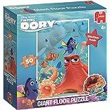 Jumbo Disney Finding Dory Giant Floor Puzzle 50 pcs Floor puzzle 50pieza(s) - Rompecabezas (Floor puzzle, Dibujos, Disney Pixar Finding Dori, Preschool, Niño/niña, Cartón)