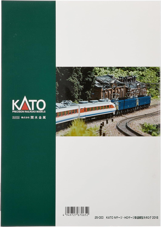 Kato K25-000 Kato Catalogue 2018 Japanese Language
