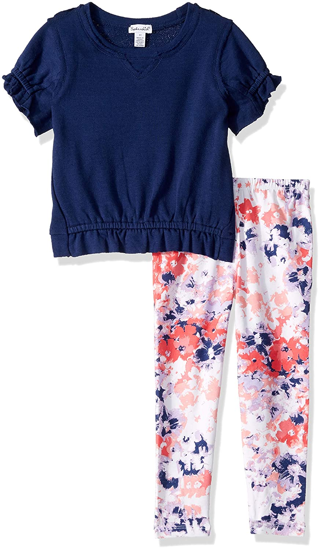 Splendid Girls Kids and Baby Short Sleeve Top and Bottom 2 Piece Set