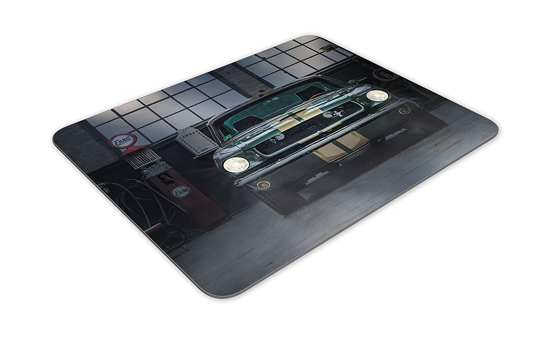 Vintage Mustang Auto Shop tapete de ratones Coj/ín Estaciones De Servicio regalo del ordenador # 14662 EE.UU.