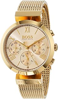 336484a68 Hugo BOSS Womens Analogue Classic Quartz Watch with Stainless Steel Strap  1502425