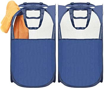 2-Pack Laundry Hamperck MaidMax Pop-Up