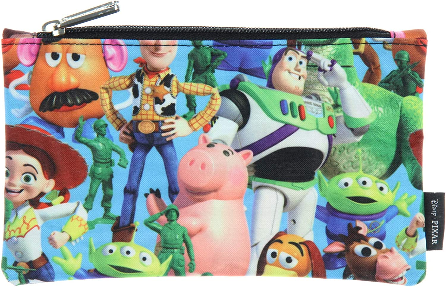 Loungefly x Disney Pixar Toy Story Allover Character Print Zip Around Wallet