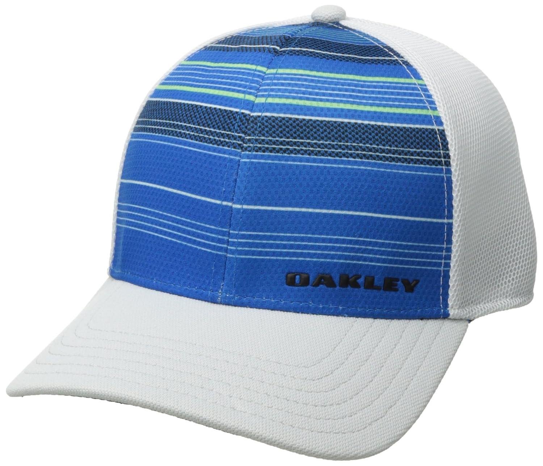 961cc2813aaa8 Amazon.com  Oakley Men s Silicone Bark Trucker Print 2.0 Cap  Sports    Outdoors