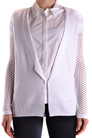 40d06a2e98 Pinko Women's MCBI242250O White Viscose Cardigan: Amazon.co.uk: Clothing