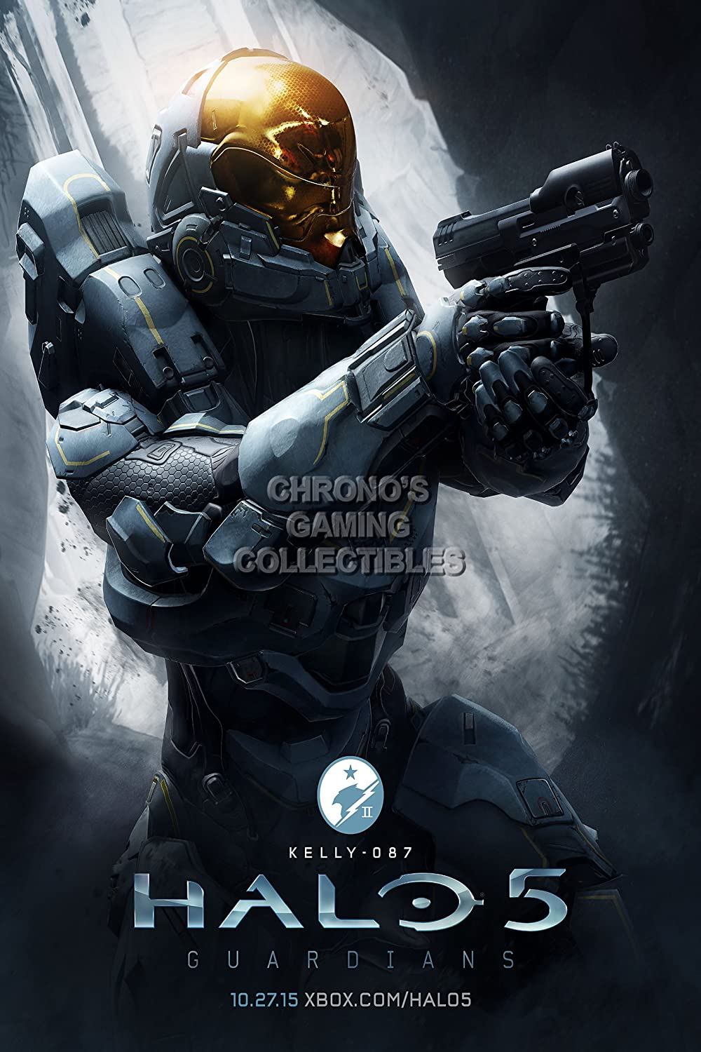 CGC enorme cartel – Halo 5 Kelly Xbox 360 One – hal036, papel, 36 ...