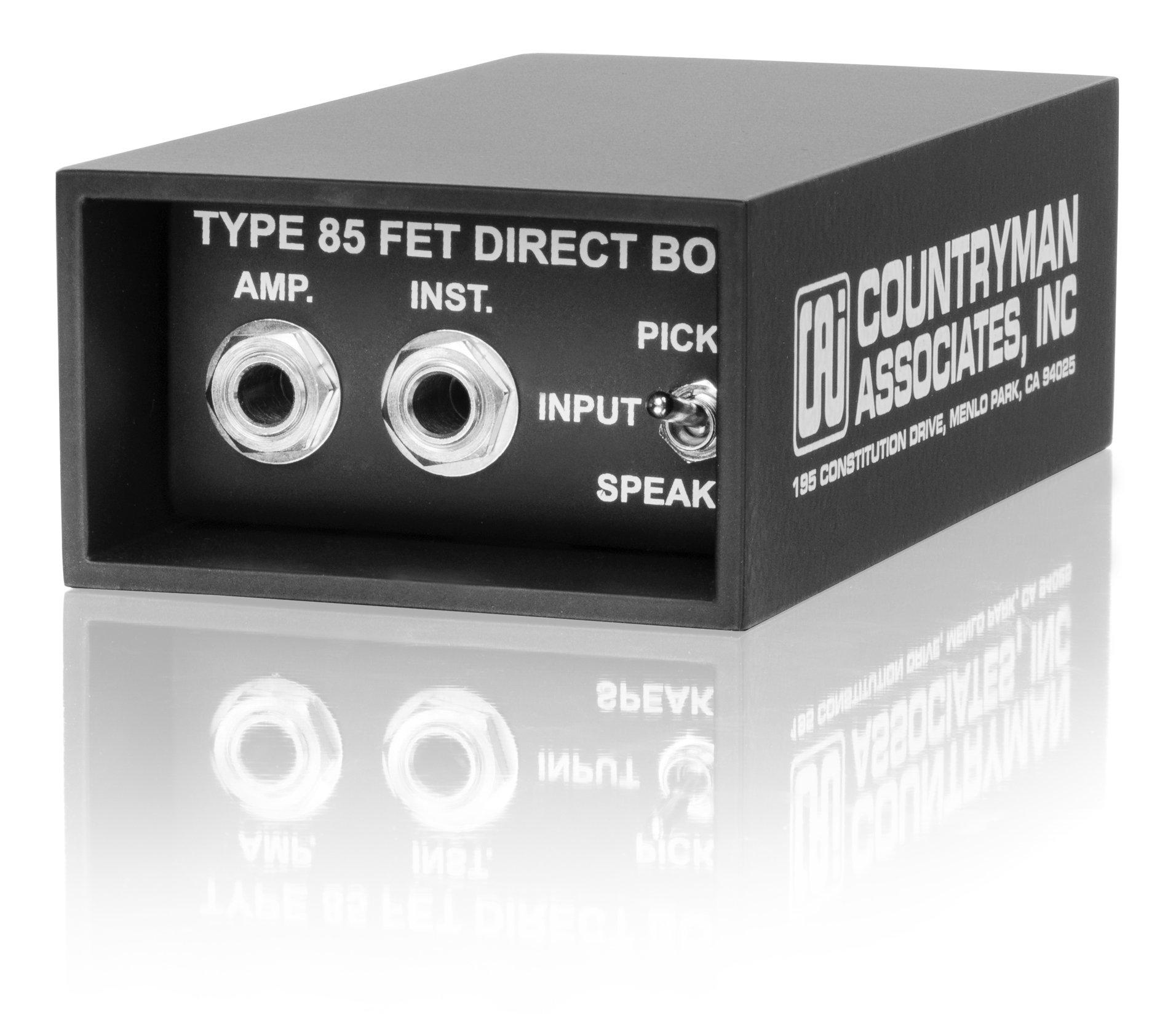 Countryman DT85  Type 85 Direct Box (Black)