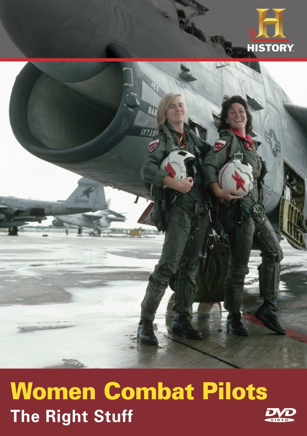 Women Combat Pilots:right Stuf