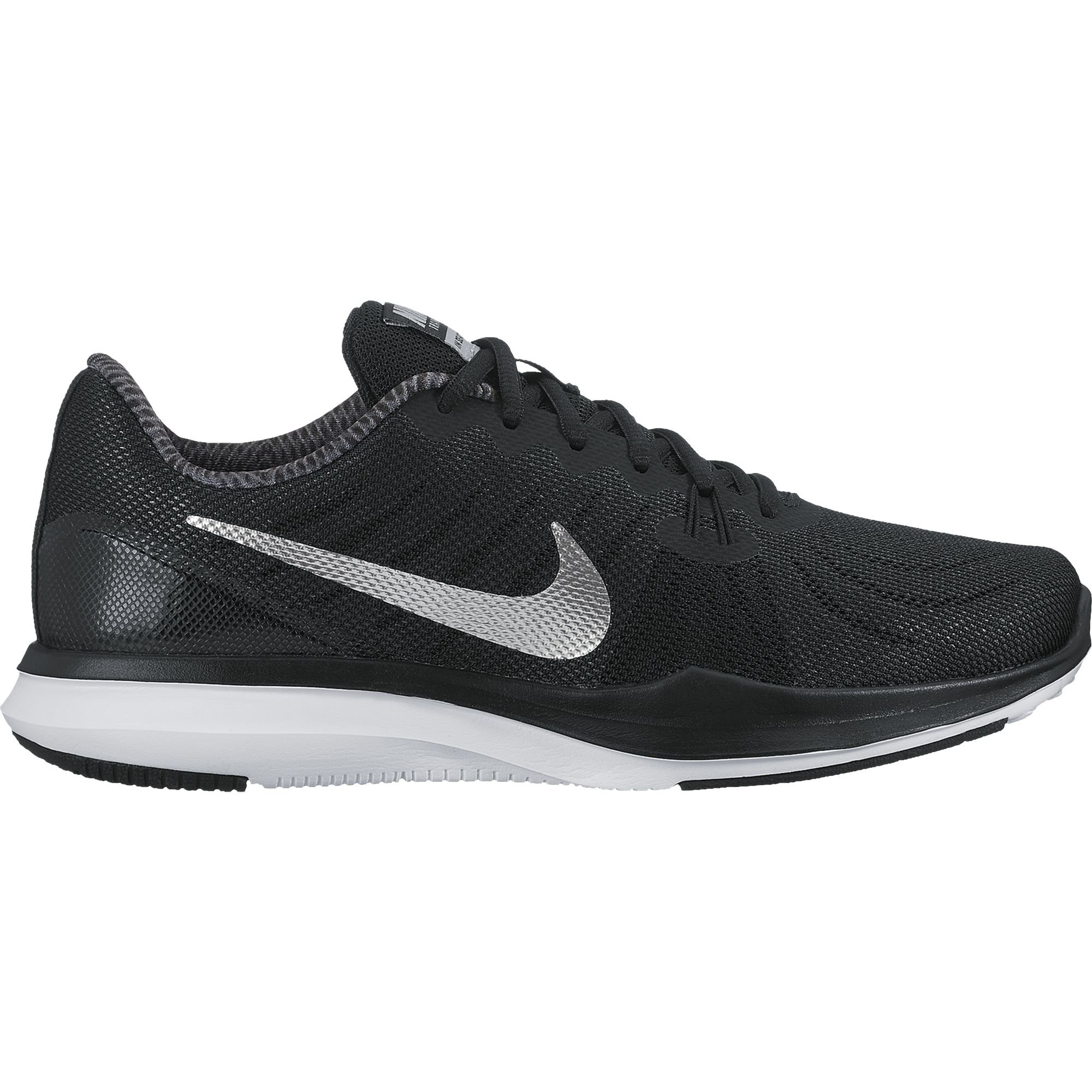 Nike Women's in-Season 7 Training Shoe Black/Metallic Silver/Anthracite Size 10 M US
