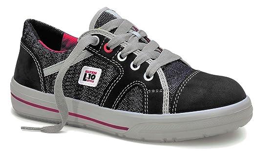 new styles af6b0 c5737 ELTEN Sicherheitsschuhe SENSATION Lady Low ESD S2, Damen, sportlich,  Sneaker, leicht, dunkelblau, Stahlkappe - Größe 35