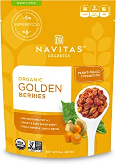 product image for Navitas Organics Goldenberries, Original, 8 oz. Bags (Pack of 2)