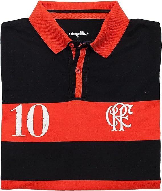 Coolligan - Polo de Fútbol Retro 1895 Mengão - Color - Negro ...