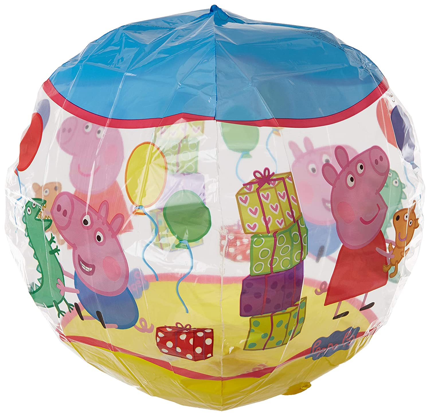 Anagram International 3126101 Peppa Pig Orbz Party Balloon 16' Multicolor